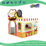Kindergarten Wooden Kitchen Style Doll House Kids Furniture (HJ-8409)