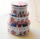 Tin Box for Tea Candy Biscuit Cookie Chocolate Storage Coffer Box