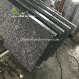 Natural Black Stone Steps with Sides Polish