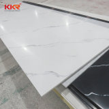 Free Samples Polyester Alabaster Sheet White Marble Pattern Artificial Stone Wholesale Corian Prices Solid Surface Bathroom Shower Wall Panel