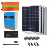Complete 5kw 5000W 220V solar energy systems power system home, solar generator