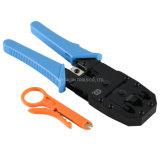Hand Network Modular Connector Crimping Tool for 3 in 1 Crimping/Strips/Cut