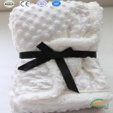 White Color 2 Layers Super Warm Baby Blanket for Winter