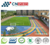 High Quality Resilient Silicon PU Running Track of Good Sport Performance