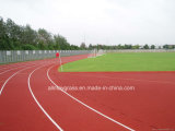 Iaaf Certificate 400 Meter Stadium & School Playground Athletic Rubber Running Track Field Construction