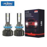 Wholesale F2 H11 LED Headlight 48W 6600lm Car Accessories H11 6000K Head Light