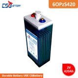 Csbattery 2V420ah Tubular Maintenance Acid VRLA Opzs Battery for Electric-Bicyle/Boat/Telecom/Medical-Equipment