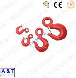 Swivel Lifting Construction Alloy Steel Eye Hoist Hook for Chain