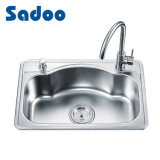 Stainless Steel Kitchen Sink, Satin/Brushed Finish