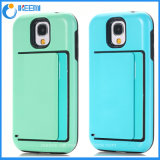 Clear PC Back TPU Bumper Mobile Phone Case for Samsung