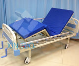 Factory Wholesale Medical Equipment Simple Stainless Steel Hospital Bed