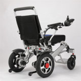 FDA Approved Aluminum Alloy Folding Lightweight One Step Supported Electric Wheel Chair for Online Wholesale