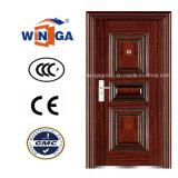 South Africa Appartment Best Price Steel Security Entrance Doors (W-S-81)