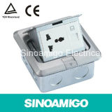 Aluminum Pop up Power Socket Floor Socket Boxes