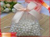 Jewelry Organza Bag Promotion Gift Bag with Ribbon Bow