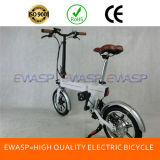 Ce Certificated Widely Used 36V Lithium Battery 14 Inch Tire Folding Electric Bike
