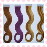 Factory Price 100% Ombre Remy Tape Hair Extensions