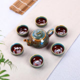 Ceramic Tea Set Porcelain Tea Set Tea Cup Colorful Gift Tea Set