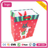 Christmas Reindeer Lovely Baby Presents Coated Paper Shopping Bag