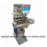 High Quality 4-Color Ink Cup Pad Printer Machine with Shuttle (TM-S4)