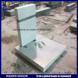 China Hunan White Marble France Tombstone