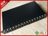 16 Bay Unmanaged Media Converter Chassis 1U 19 in Redundant Power Supply
