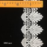 9cm Amelia White Scallop English Lace Trim, Bridal, Wedding Dress Trimming, Home Decor, Shabby Chic, Tea Party, Fashion Design Trimming Hmhb1008
