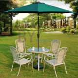 Outdoor Balcony Five-Piece Coffee Table and Chair Rattan Furniture