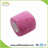 Factory Made Hospital Medical Wound Cohesive Cotton Gauze Rolls Bandage