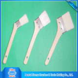 Wooden Handle Curved Paint Brushes