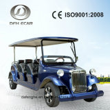 6 Seats Low Speed Sightseeing Car Battery Electric Cart Golf Buggy Vehicle