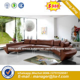 New Italian Modern White Color Living Room Leather Sofa (HX-8N2150)