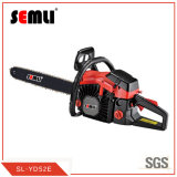 2-Stroke Gasoline Motorized Chainsaw with High Durable Chain