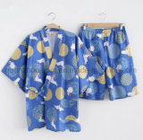 OEM Cotton Lovers Japanese Hot Spring Nightgown Sleepwear Pajamas