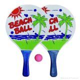 Wholesale Price Customize Logo Outdoor Toys Wood Beach Ball Racket Set