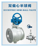 Double Eccentric Semi-Spherical Valve Used in Steel Industry