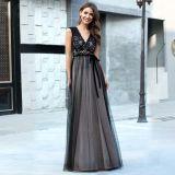 Women Bridesmaid Modest Ladies Long Dresses Evening Wear