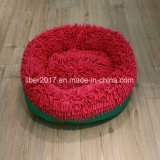 Color Mop Cloth Oval Petdog Cat Bed House Cushion