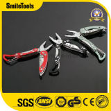 Multitool Multifunction Knife Folding Pocket Tool with Plier Carabiner