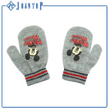 Wholesale Polpular Lovely Carton Printing Knitted Gloves