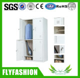 Two Doors Clothes Steel Wardrobe for Sale (ST-13)