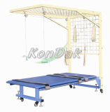 Rehabilitation Traction Frame with Bed