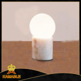 Modern Marble Glass Hotel Room Table Light (KA-T17-088)