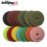 Diamond Resin Dry/Wet Flexible Polishing Pad for Granite/Marble/Concrete/Engineer Stone/Quartz