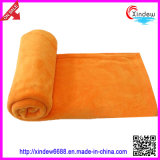 Solid and Printed Polar Fleece Blanket