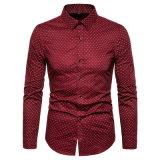 Wholesale Price Men Wave Poit Work Shirts Long Sleeve