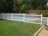 PVC Plastic White Pool Fences / PVC Valla De Jardin