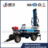 Dfq Pneumatic Borehole Drilling Rig--High Efficiency in Granite Area