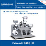 Slitting Machine with Rotary Die-Cutting Station