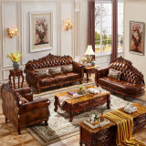 Leather Sofa for Home Furniture with Optional Sofas Color (929RS)